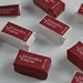 personalized wrapped sugar cubes