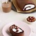 Chestnut Chocolate Sponge Cake Roll