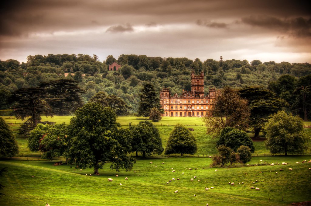 Highclere Castle Wallpaper Highclere Castle | by Pete