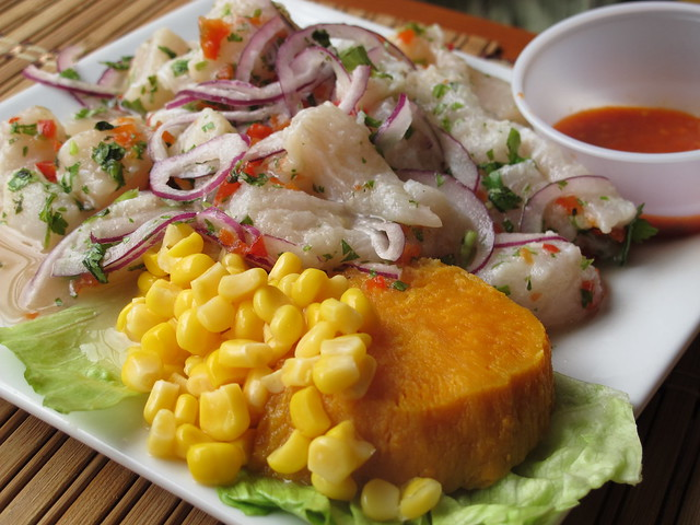 Fish ceviche flickr photo sharing for Fish for ceviche