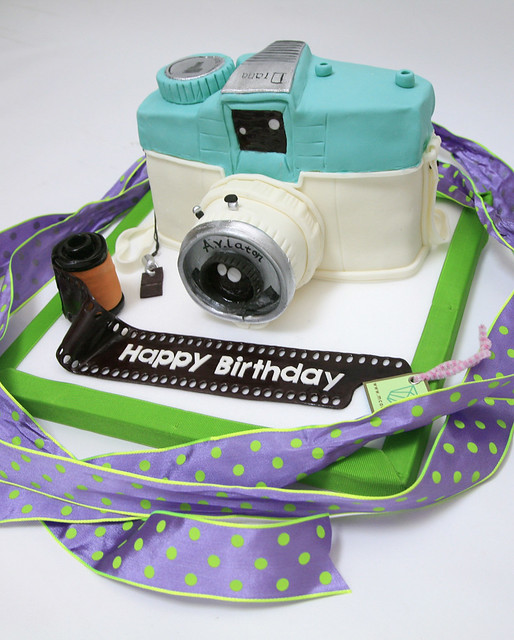Birthday Cake Images Camera : LOMO CAMERA BIRTHDAY CAKE @ M CAKES Flickr - Photo Sharing!
