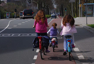 Three Little Girls On Bikes | by travelling two
