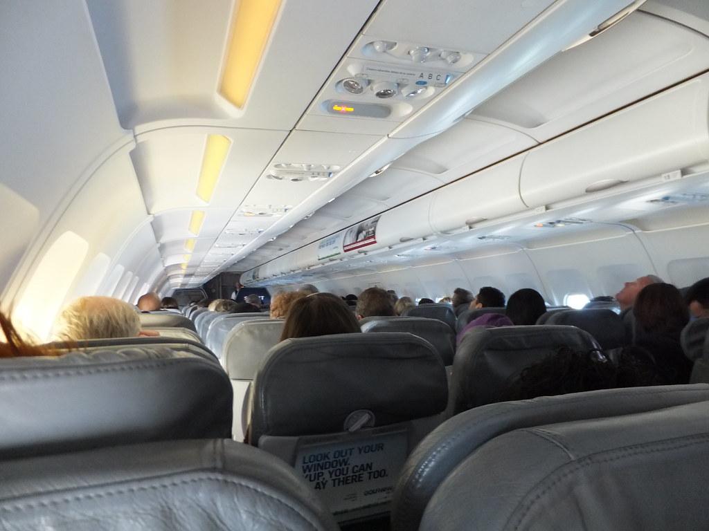 Spirit A319 Cabin Onboard Spirit 807 Seat 20a Erik