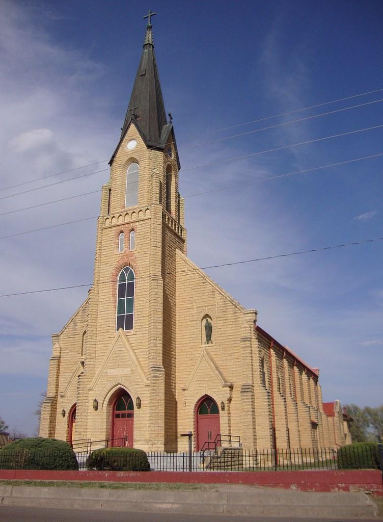 Saint Josephs Catholic Church Liebenthal Kansas Flickr