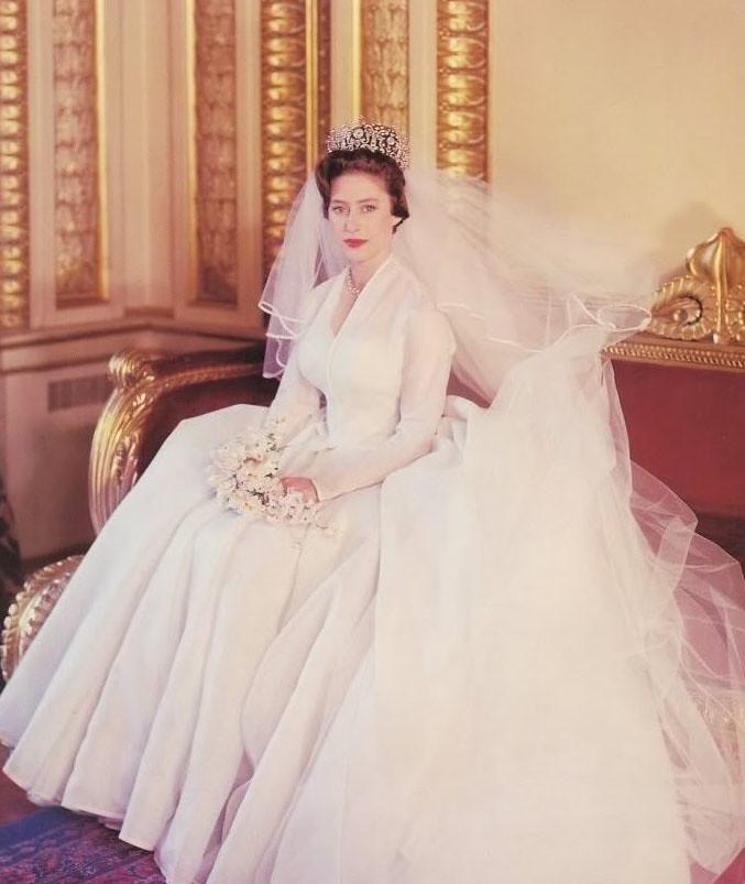 Princess Margaret Wedding Dress The Crown: Princess Margaret's Wedding, 6 May 1960