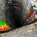 A Train Tunnel and a Broken Shutter