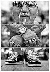 Triptychs of Strangers #14: The Grieving Sailor - Schanze, Hamburg