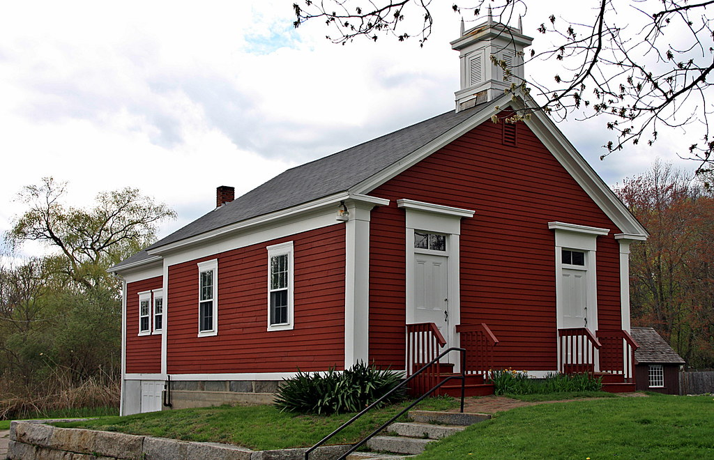 Little Red Schoolhouse Located in North