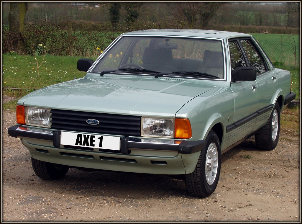 1982 Ford Cortina 2.0 Ghia | Got sent this via email and ...