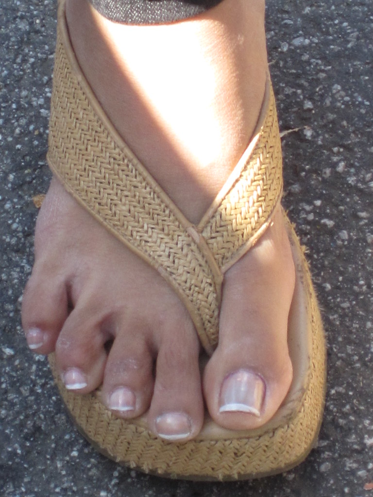 Asian feet foot