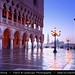 Italy - Venice - Dawn - New Day Starts at Piazza San Marco and the Doge's Palace