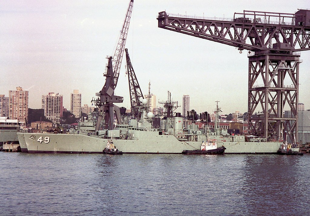 Overhead Crane Training Sydney : Among the last type destroyer escorts at garden i