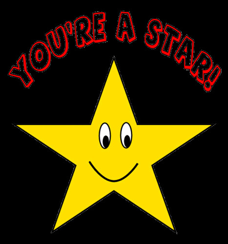 You're a Star clipart sketch , lge 15 cm | Flickr - Photo ...