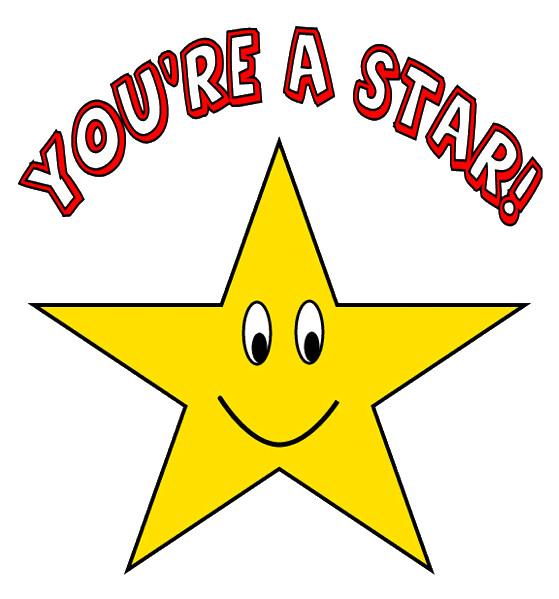 happy star clip art - photo #21