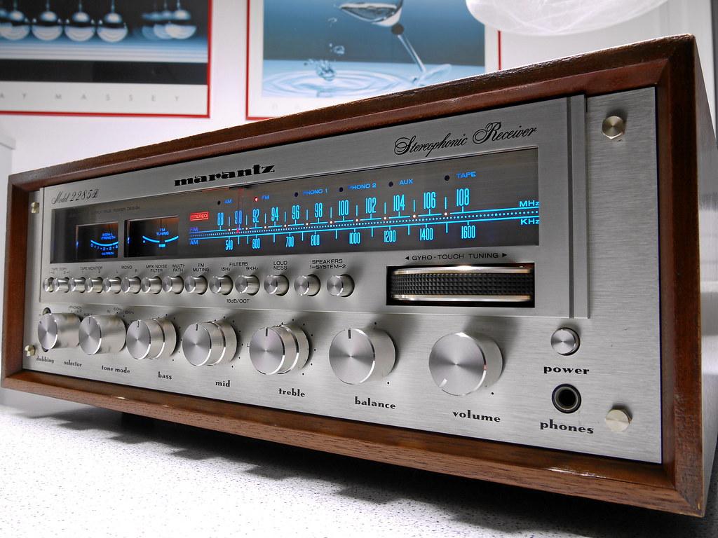 Marantz 2285b Stereo Receiver 1977 This Receiver Model