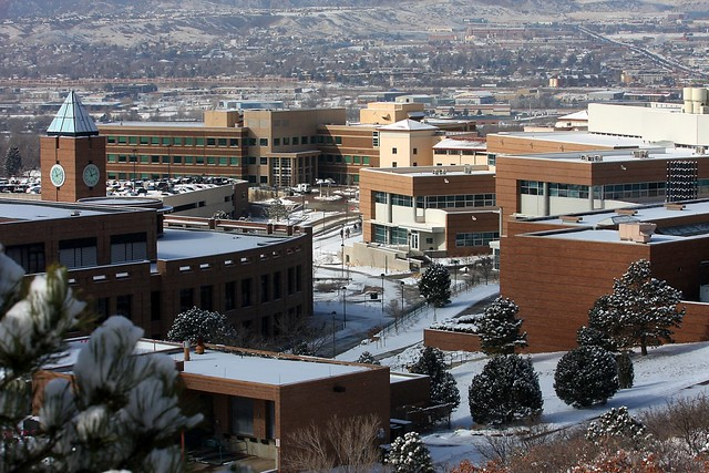 Uccs Capus In The Winter Flickr Photo Sharing