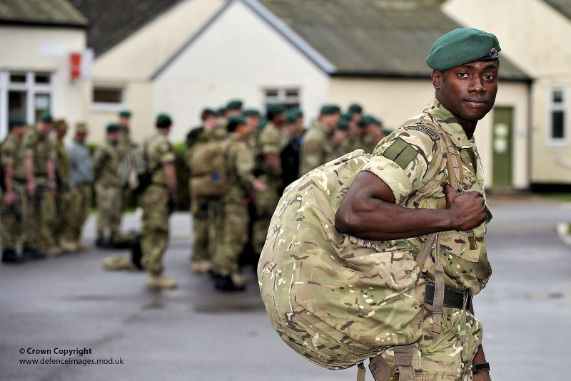 Royal marine deploys on cougar 11 a royal marine from 40 c flickr - Royal marines recruitment office ...