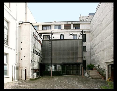 Maison dalsace maison de verre 1931 paris vii flickr photo sharing - Maison de verre ...
