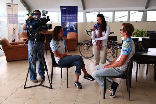 Canal 7 interview | by Cycle for Water