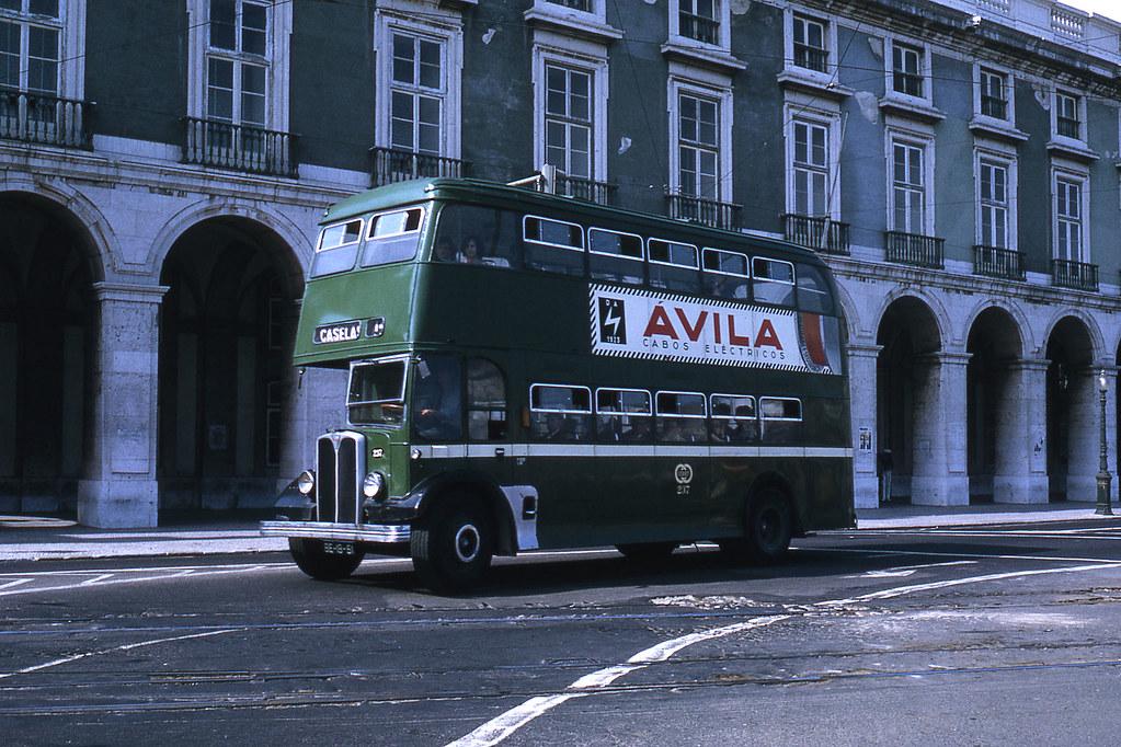 Autocarro de Caselas, Lisboa (J.-H. Manara, 1972)