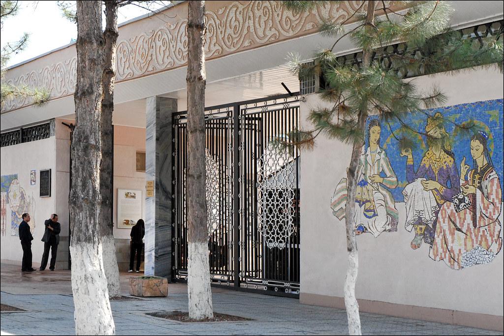 Le mus e des arts d coratifs tachkent ouzb kistan flickr - Musee des arts decoratifs metro ...