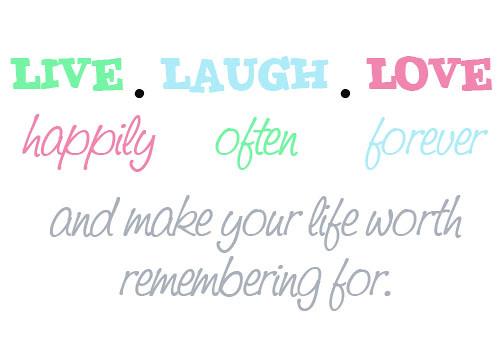 live laugh love 3d - photo #34