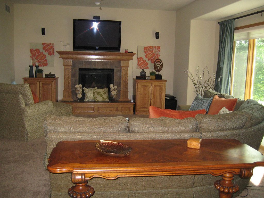 living room 20 39 x 16 39 open floor plan gas fireplace