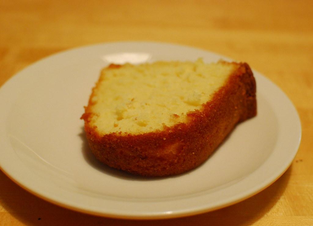 Sour Cream Pound Cake Using White Cake Mix