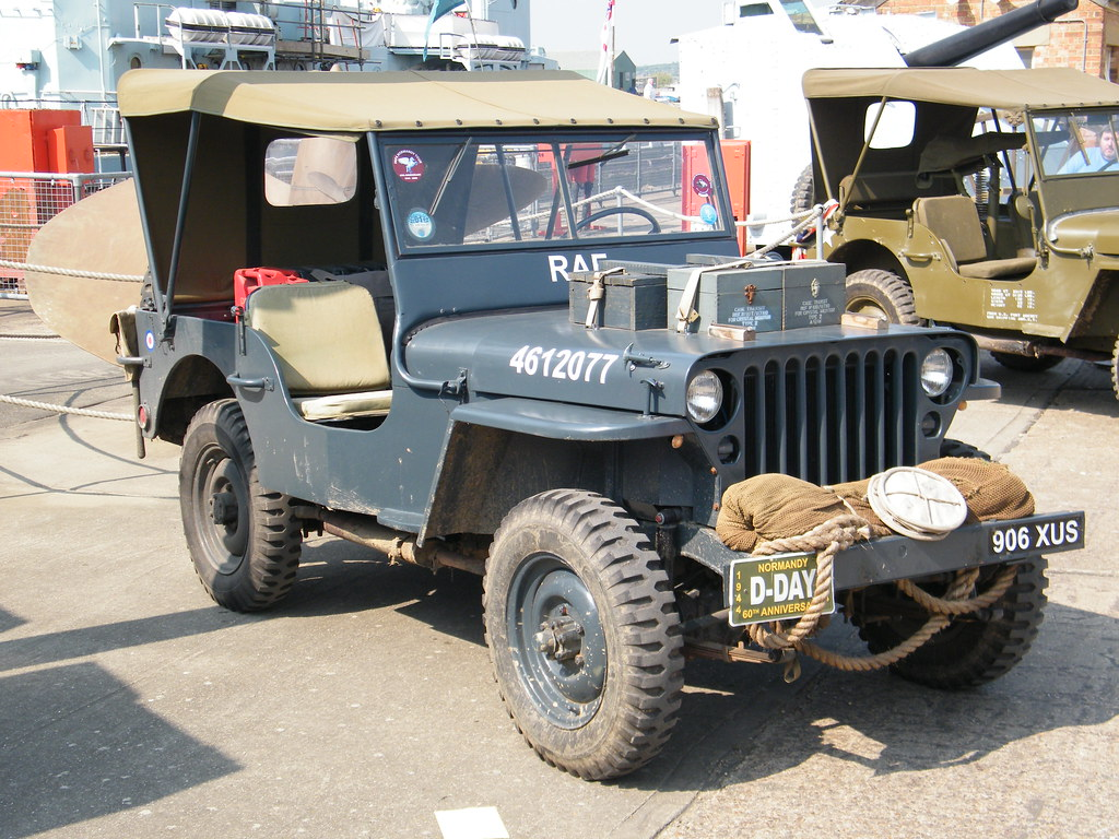 1940s Willys Jeep Raf Flickr Photo Sharing