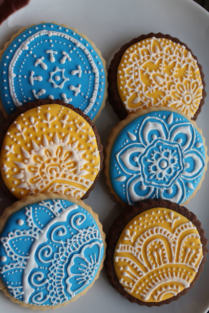 Henna Cookies - for Niki | Three Ghosts | Flickr