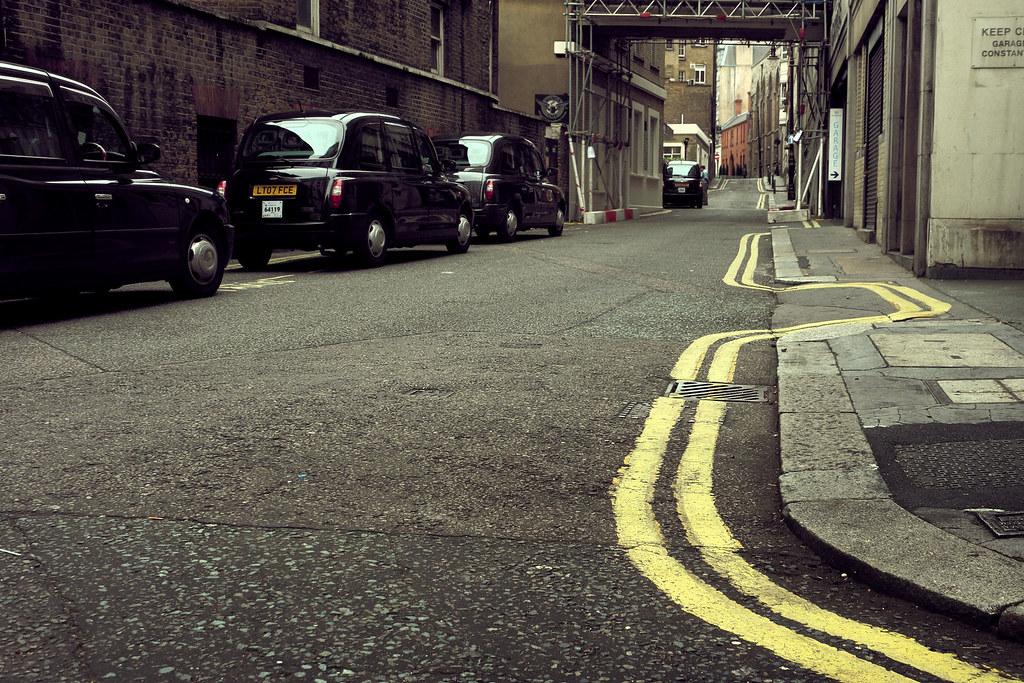 London street lines #2...