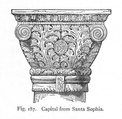 Hagia Sophia: rendering of detail | Title: Hagia Sophia ...