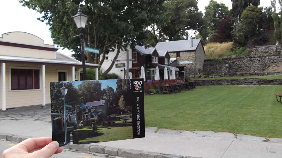 Buckingham Green, Arrowtown - Postcard