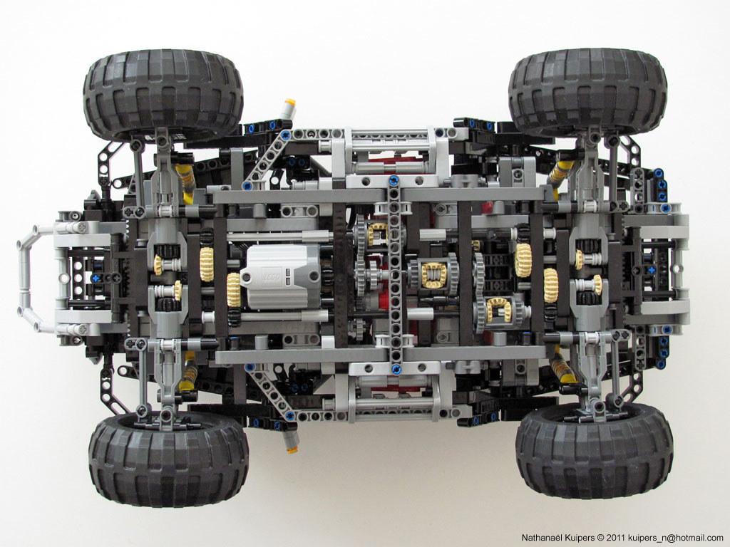 Jeep Hurricane Transmission Lego Technic Jeep Hurricane
