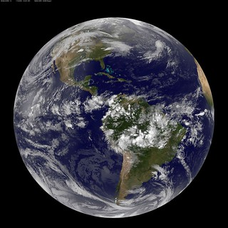 Full Disk Image of Earth | by NASA Goddard Photo and Video