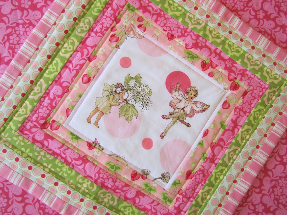 18 Inch Pillow Cover I Used An 8 Quot Square Of The Fairy