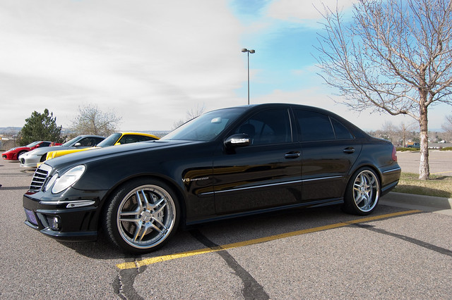 Mercedes e55 v8 kompressor flickr photo sharing for Mercedes benz v8 kompressor