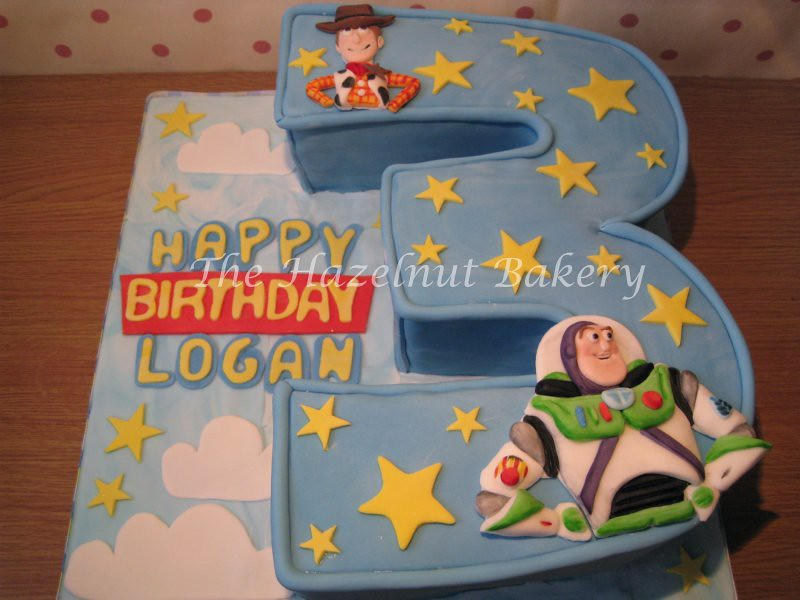 Toy Story 3rd Birthday Cake Sm The Hazelnut Bakery Flickr