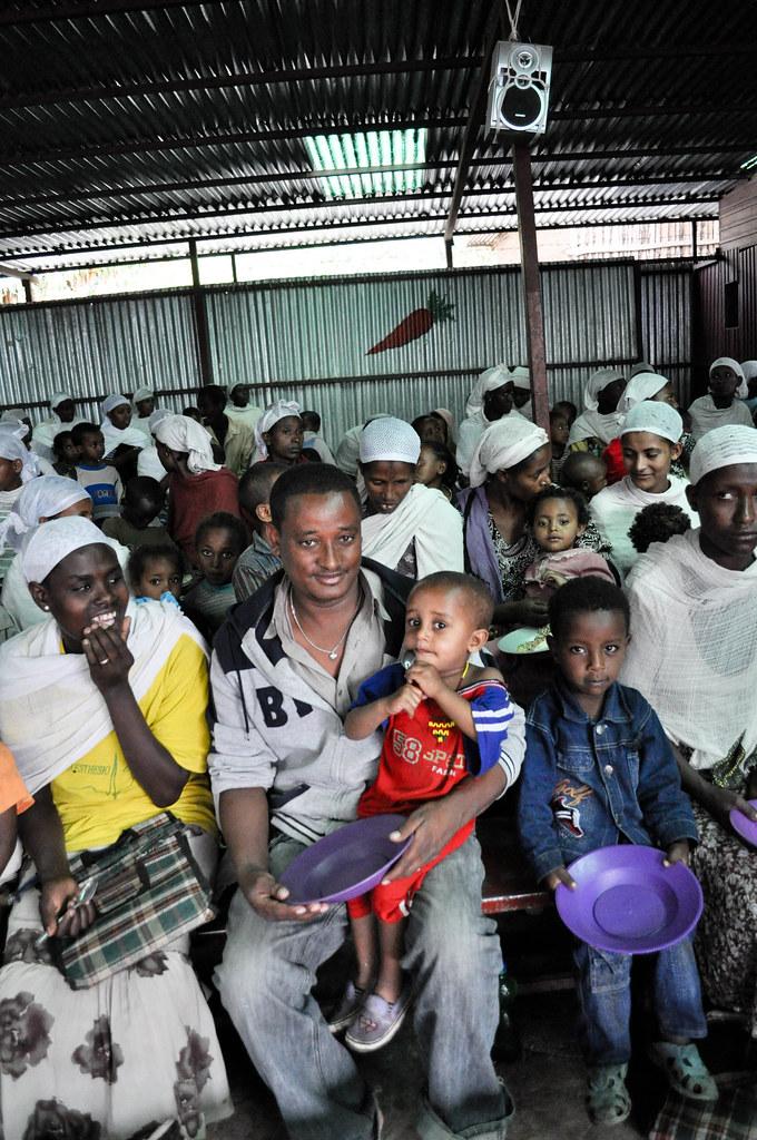 Feeding scheme at Gondar Synagogue