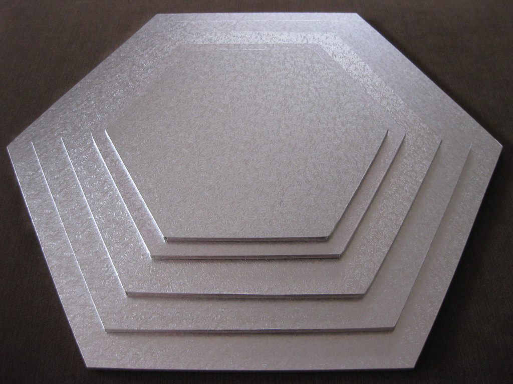 Hexagon Masonite Boards These Cake Boards Are Used To