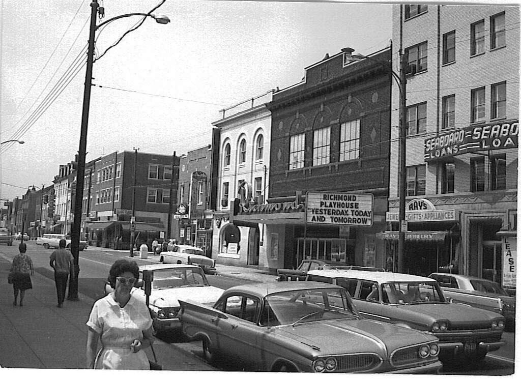 Alexandria Va The Richmond Old Town Theatre 1964 Flickr