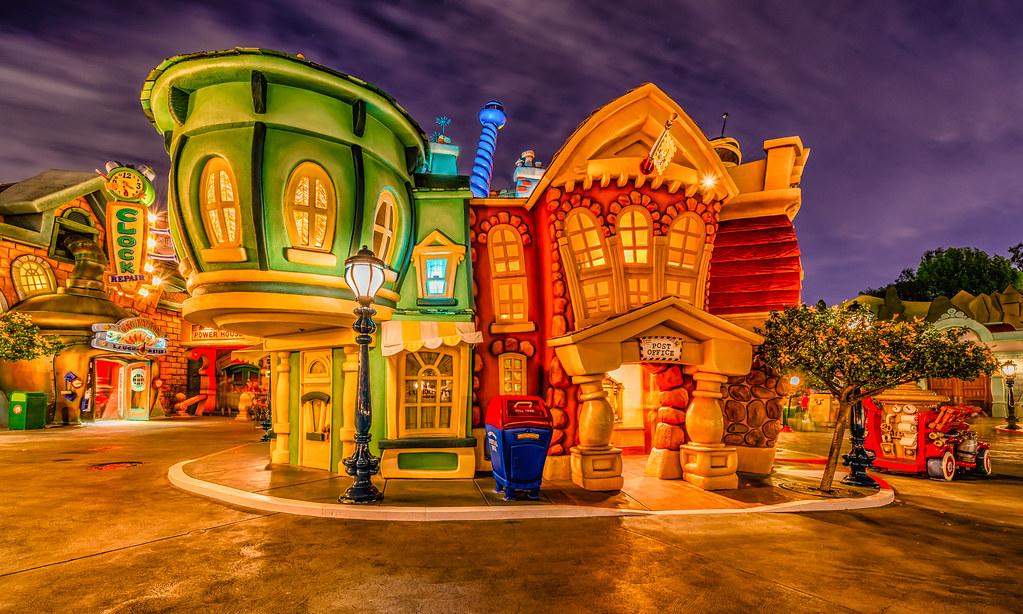 Toontown Post Office Disneyland I Really Do Like The