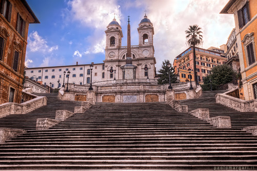 Spanish Steps in Rome | by Paolo Margari