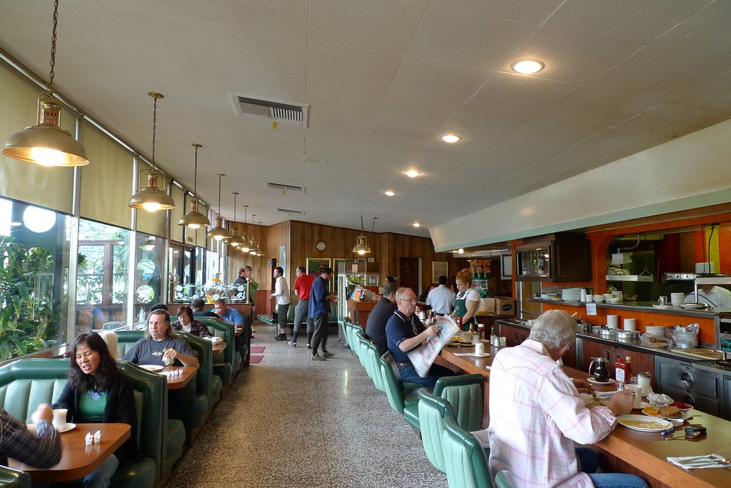 Astro family restaurant interior