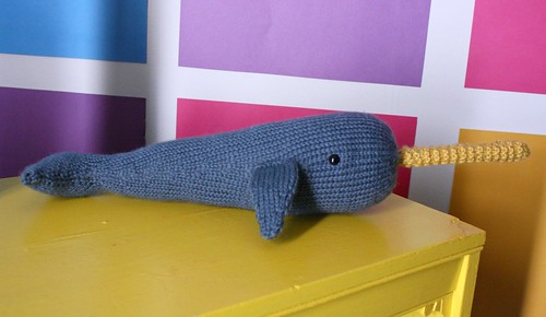 Hand Knit Narwhal | by Eleanor por favor