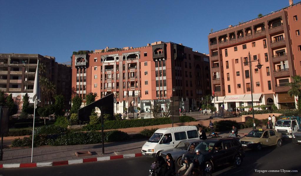 Quartier Guéliz de Marrakech (7) | Les beaux quartiers de ...