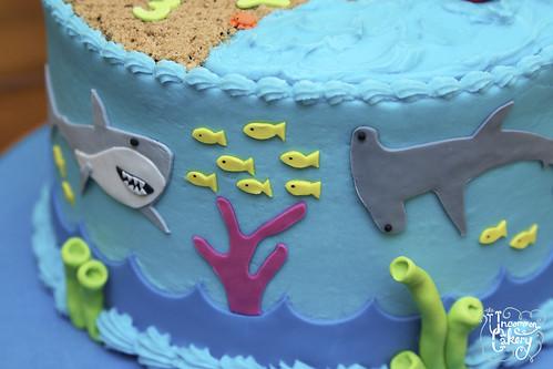 Ocean Birthday Cake