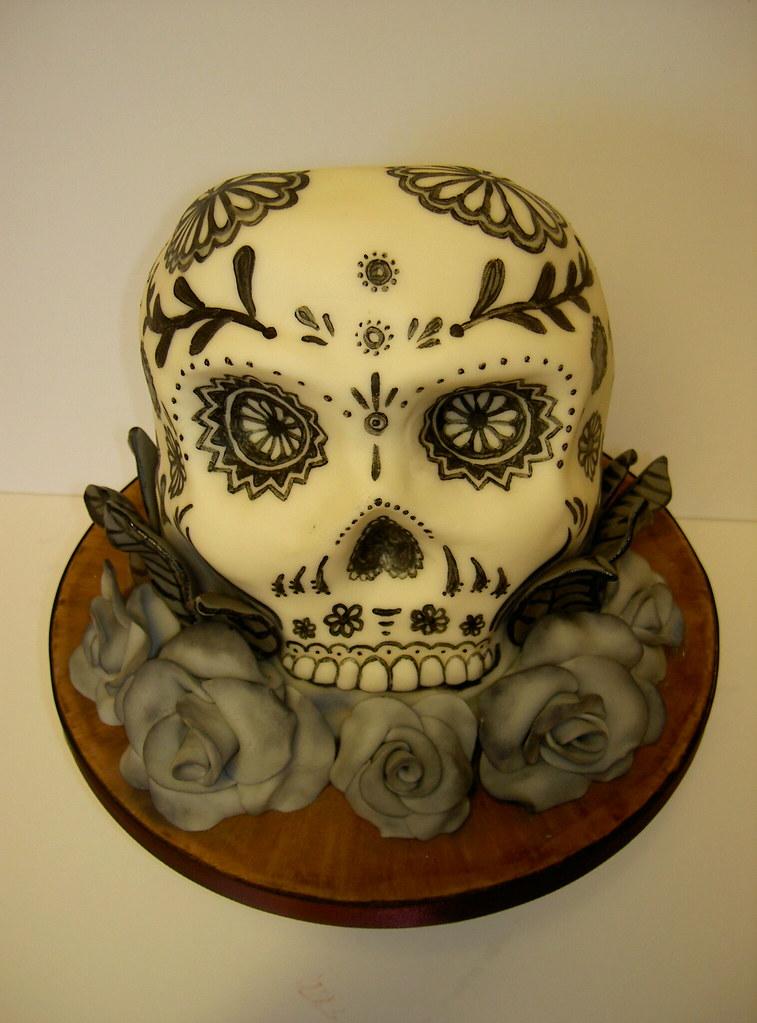 Sugar Skull Cake Pan