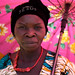 Lendu woman in the sunshine   - DR CONGO -