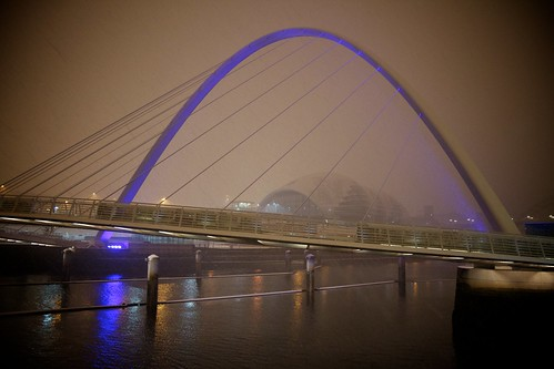 Gateshead Millenium Bridge | by Heraldk